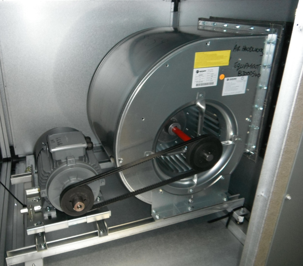 Engine Driven Centrifugal Blower : Components air handling equipment